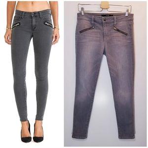 Joe's Jeans Sooo Soft Thriller Zip Skinny Ankle